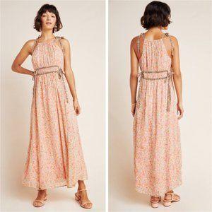 Maeve Clementina Floral Halter Maxi Dress